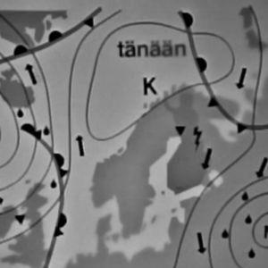 Mätäkuun sääkartta 1969