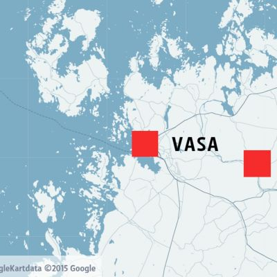 Lillkyro och Vasa på Kartan