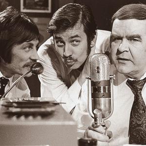 Erkki Liikanen, Pekka Laiho ja Risto Mäkelä (1974).