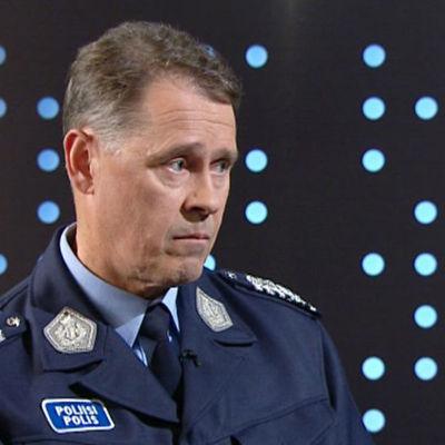 Polisöverdirektör Seppo Kolehmainen.