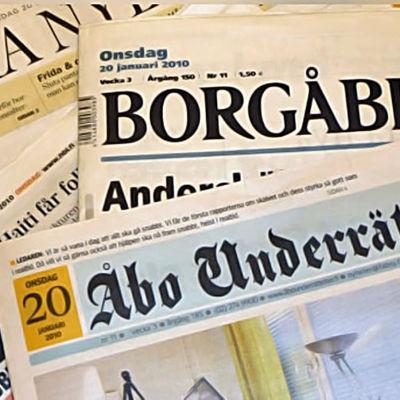Finlandssvenska tidningar