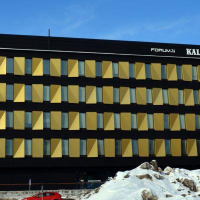 Kalevan toimitalo Oulussa
