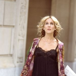 Sarah Jessica Parker spelar Carrie Bradshaw i tv-serien Sex and the city.