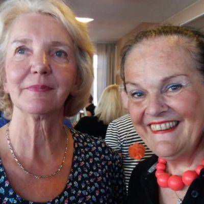 Porträtt Ulla Nyström och Gunilla Luther-Lindqvist