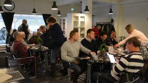 Invånarträff lockade många i Dalsbruk.