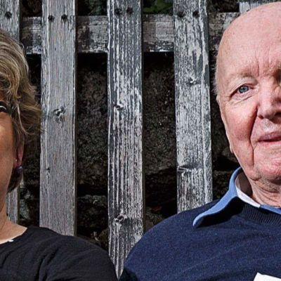Carina Nynäs och Lars Bergquist med sin bok A Linnaean Kaleidoscope. 2016.