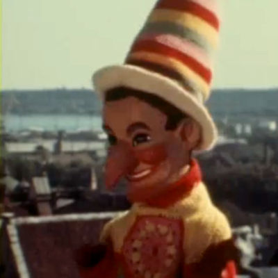 Kasper-nukke Tallinnassa (1976).