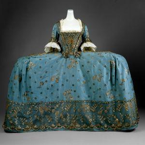 Brittiläinen hoviasu, 1750