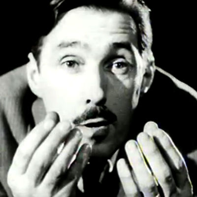 Jack Witikka ohjaa näytelmää (1954).