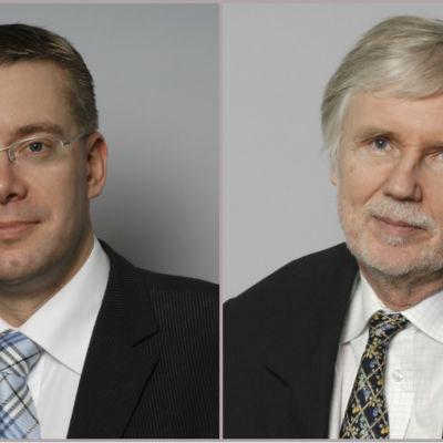 Stefan Wallin och Erkki Tuomioja
