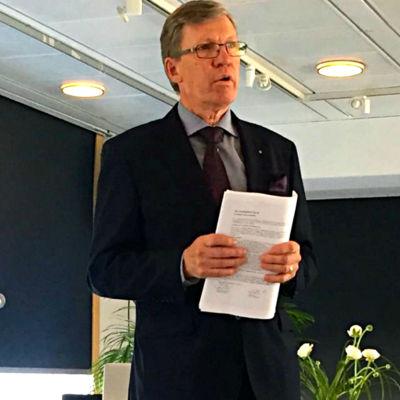 Jarl Danielsson, ordförande för Ålands Penningautomatförening