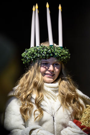 Finland lucia 2016 Ingrid Holm.