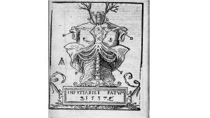 Mondino de'i Liuzzin teos Anathomia vuodelta 1541.