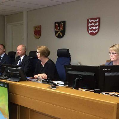 Envor Biotechin oikeudenkäynnin tuomaristoa Kanta-Hämeen käräjäoikeudessa