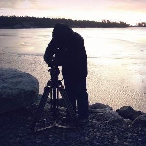Tekijänä-sarjan kuvaukset, miljöökuvaus Aurinkolahdesta