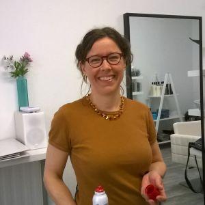 Ekofrisör Helena Skogman