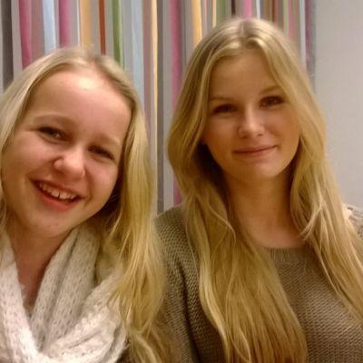 Greta Wirén och Ina Lampenius