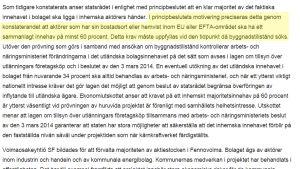 Ekonomiutskottets betänkande om principbeslutet.
