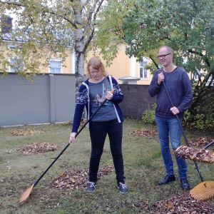 Ulrika Sandell, Mecki Andersson och Beni Edström på After Eight i Jakobstad.
