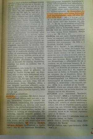 Curate enligt gammalt lexikon