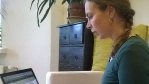 Åsa Lehtinen har startat en insamling på nätet mot ebolaepidemin.