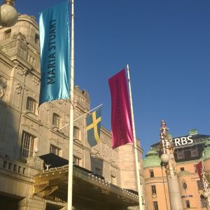 Dramatens fasad i Stockholm.