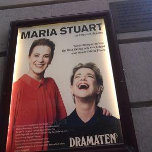 Reklamaffischen för Maria Stuart.