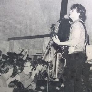Wilmer X live 1985.