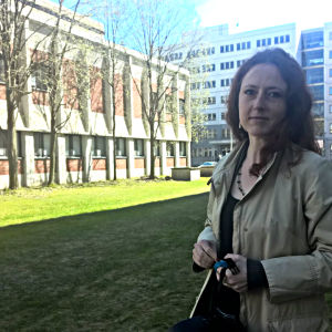 Författaren Tatjana Brandt.