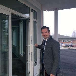 Bankdirektör Dan-Ove Stenfors.