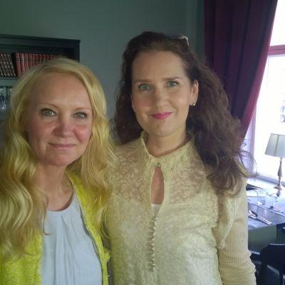 Christel Björkqvist och Pia-Maria Lehtola
