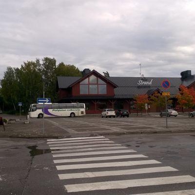 Köpcentret Strand i Ingå kyrkby