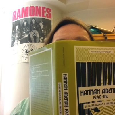 Bergholm läser Arendt