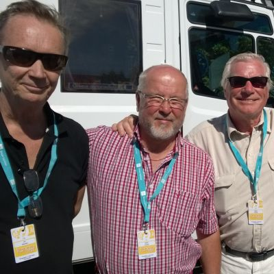 Ari Oinonen, Päiviö Pyysalo, Seppo Kulmala ja Reijo Pitkäkoski kuuluvat pitkäaikaisiin tangovaikuttajiin.