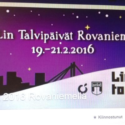 Talvipäivät Rovaniemellä helmikuussa 2016 Facebook-sivut