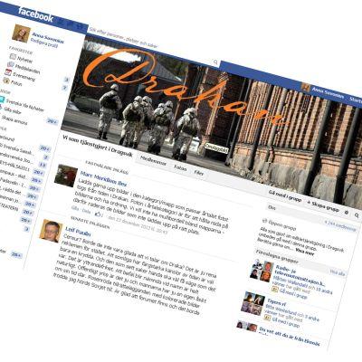 Gruppen Vin som tjänstgjort i Dragsvik på fb