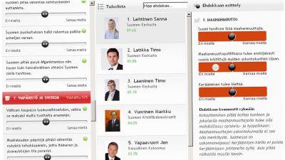 Skärmdump från mtv3.fi