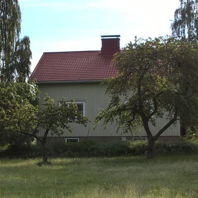 Kantorsgården i Bromarv.