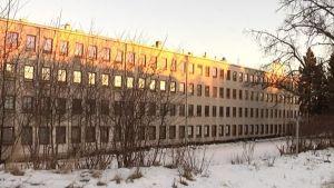 Arkivbild av Hellas fabrik i Åbo