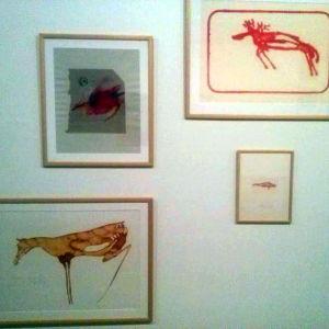 Djurmålningar av Joseph Beuys