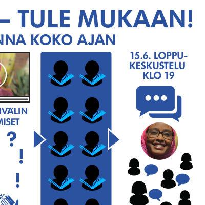Maryan Abdulkarimin verkkolukupiirin aikataulu