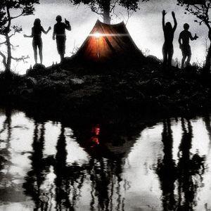 Poster för den fiktiva skräckfilmen om Bodommorden.