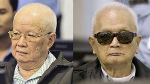 Tvåa av de Röda khmerernas ledare, Khieu Samphan och Nuon Chea, dömdes till livstids fängelse.