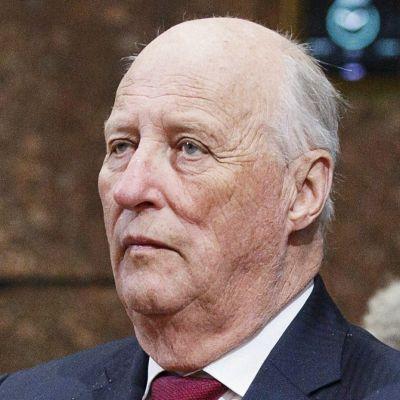 Kung Harald av Norge.