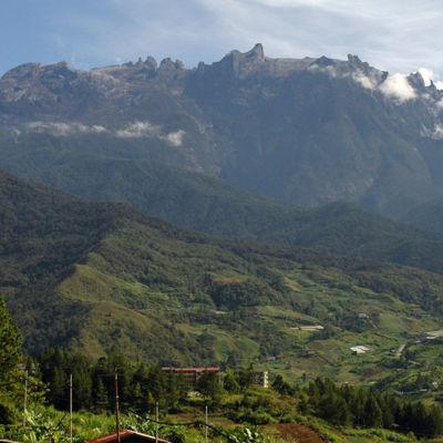 Mount Kinabalu i Malaysia
