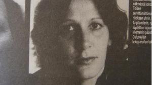 Skärmdump från sajten Aijaa.com. Bilden har ursprungligen funnits i en artikel i tidningen Alibi från 1984.