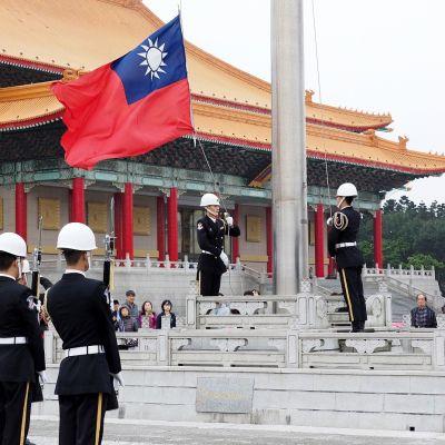 lippuseremonia Taipeissa