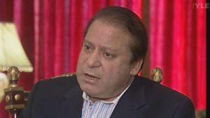 Oppositionsledaren Nawaz Sharif