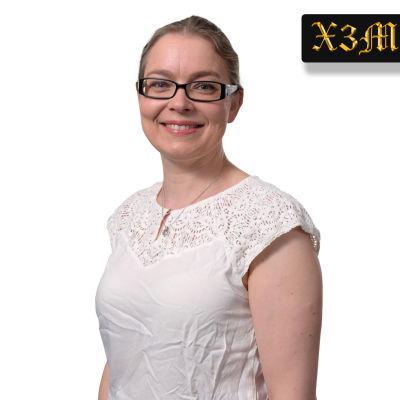 Porträttbild av Johanna Gummerus, universitetslektor i marknadsföring på Svenska handelshögskolan i Helsingfors.