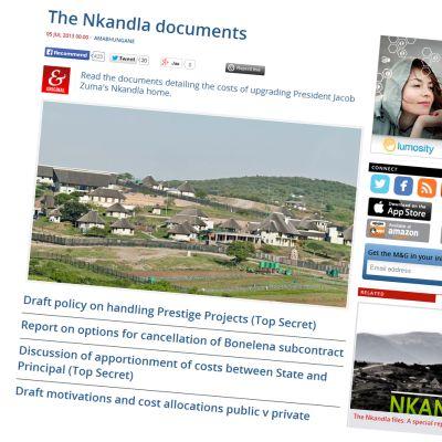 Sydafrikanska medier rapporterar om Zumas renovering